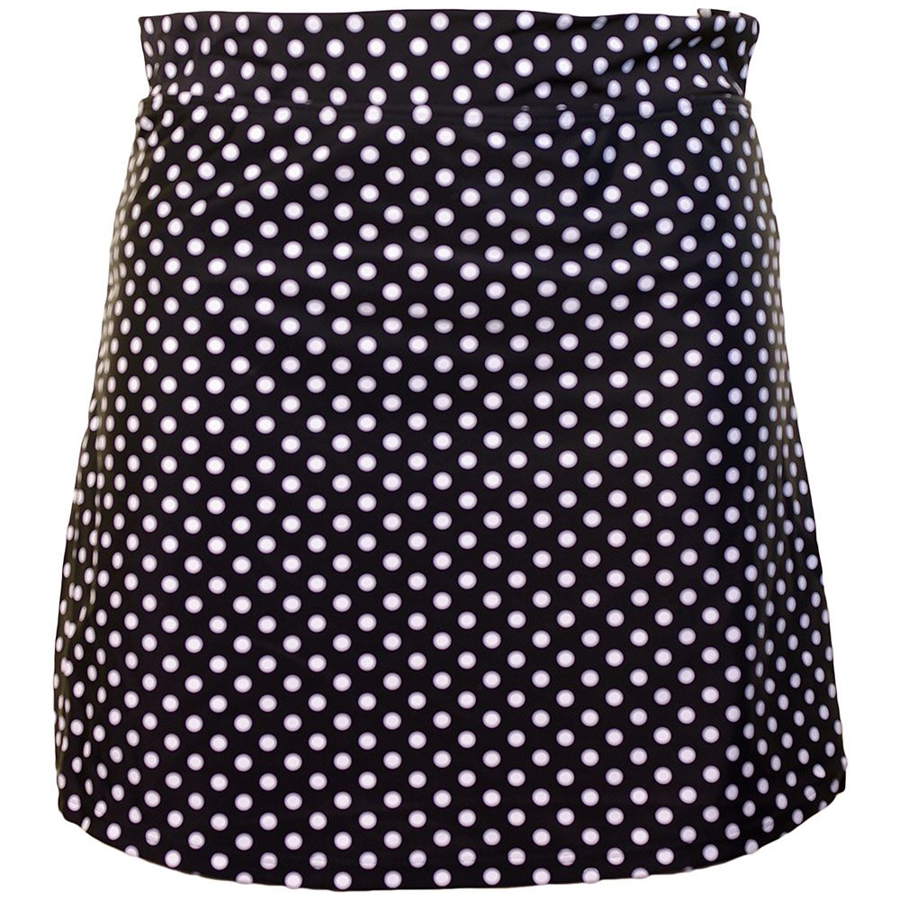 Beachcomber Dotty Swimskirt - Black