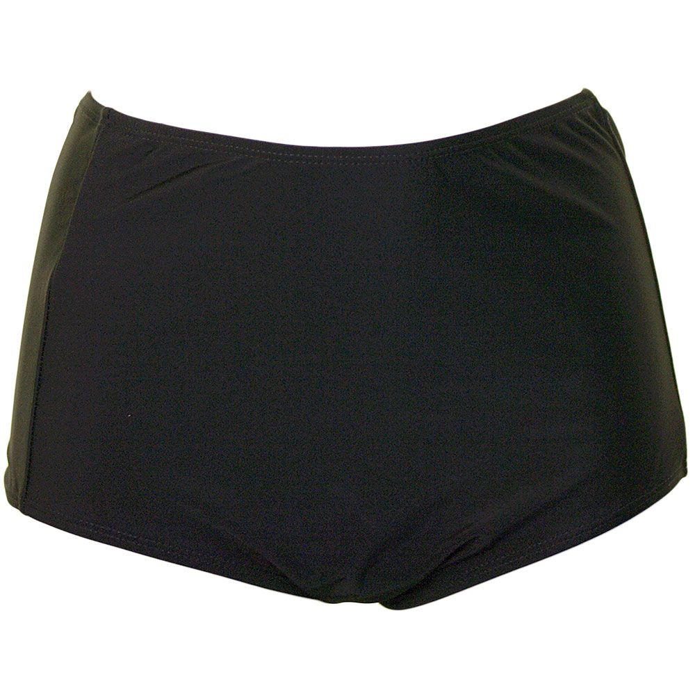 Beachcomber High Bikini Bottom - Black